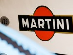 Image or Martini logo on racing car