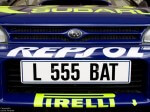 Image of Colin Mcrae's WRC car