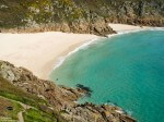 Image of deserted Cornish beach