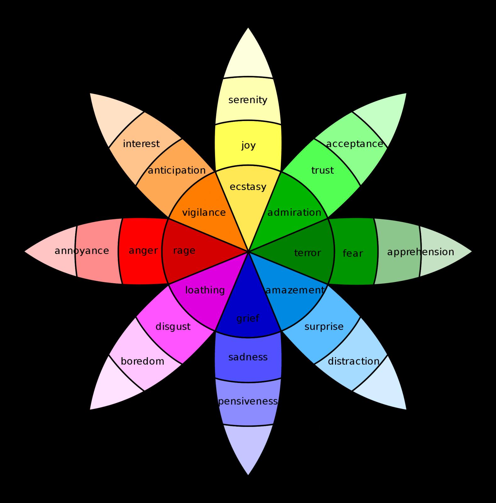 Emotion Feeling Wheel