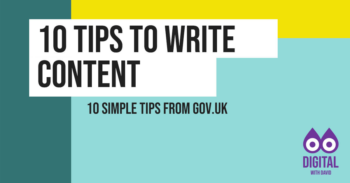 10 Tips To Write Content Banner