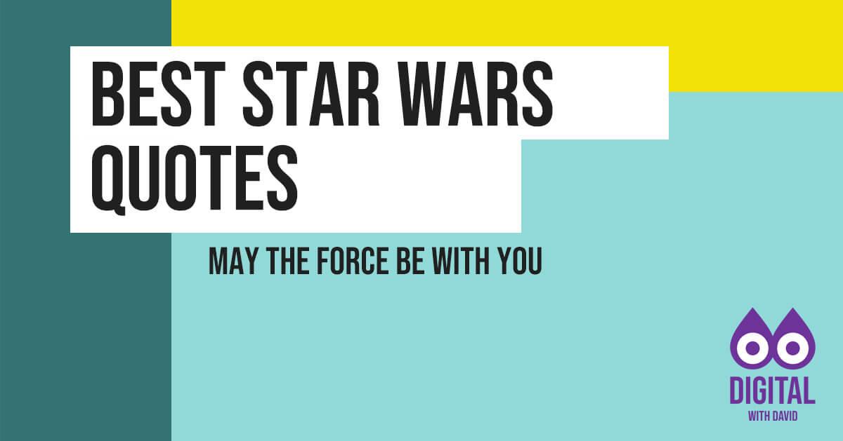 Best Star Wars Quotes Banner