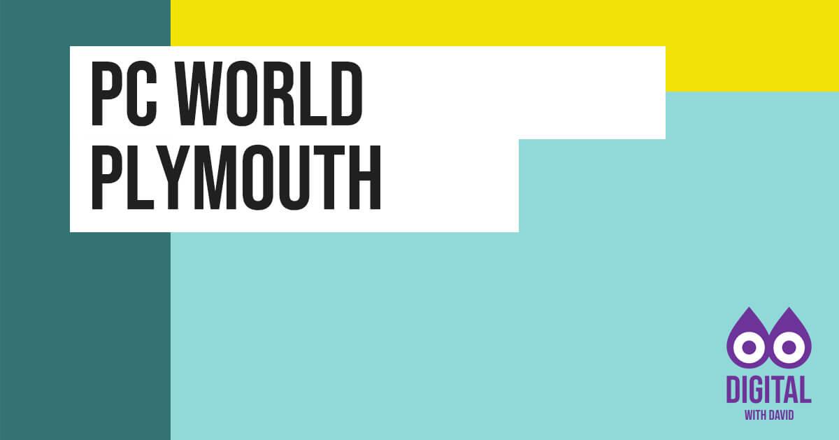 David Hodder - PC World Banner