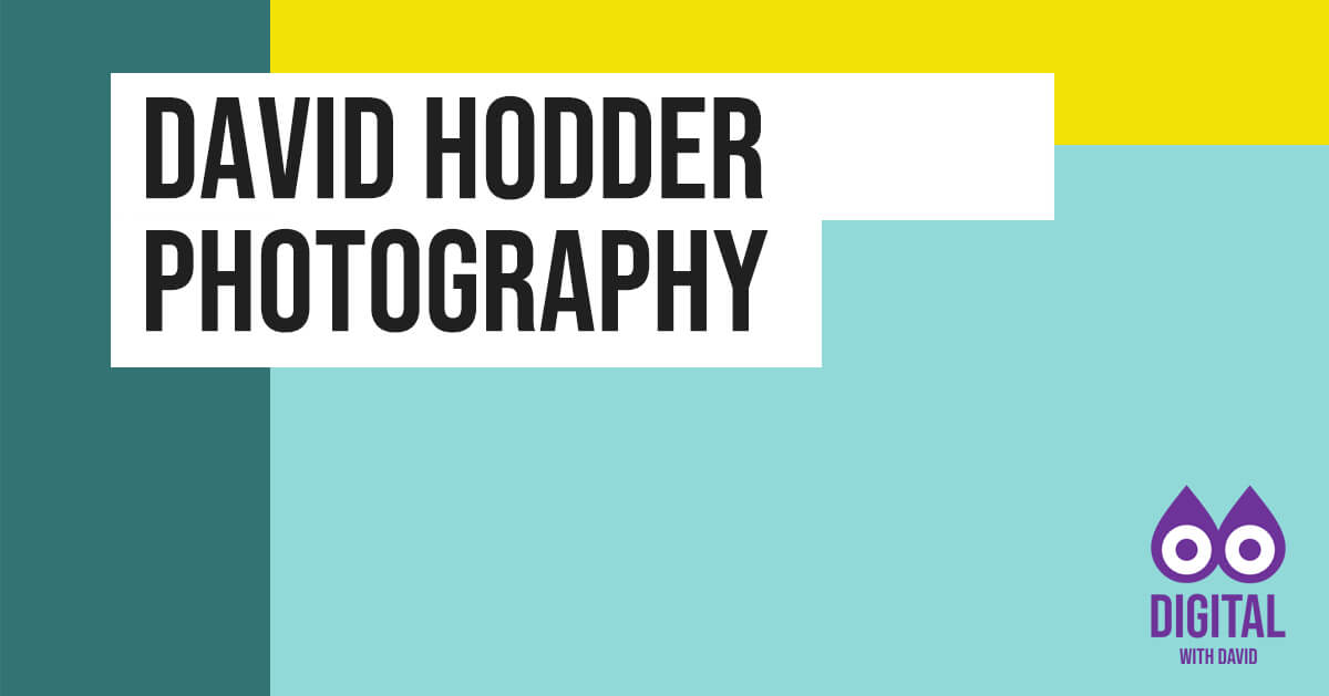 David Hodder - Photography Banner