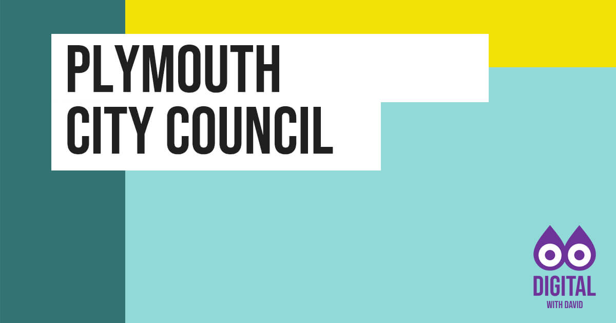 David Hodder - Plymouth City Council Banner