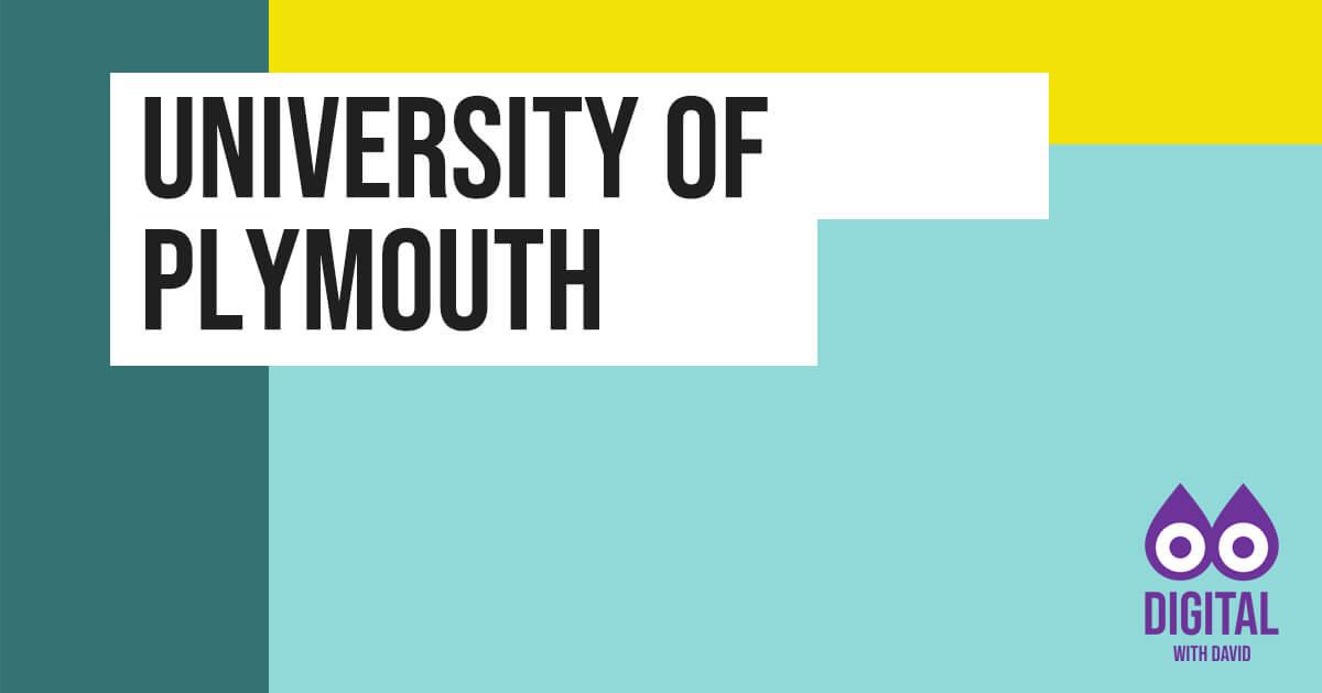 David Hodder - University of Plymouth Banner