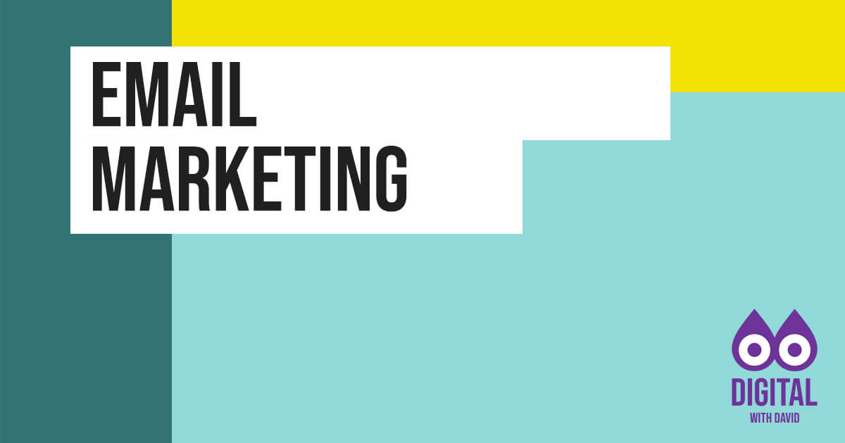 David Hodder - Email Marketing Banner