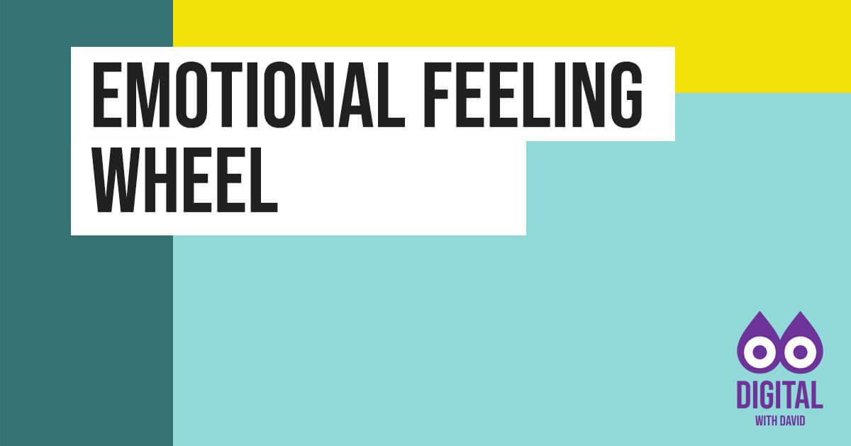 David Hodder - Emotional Feeling Wheel Banner
