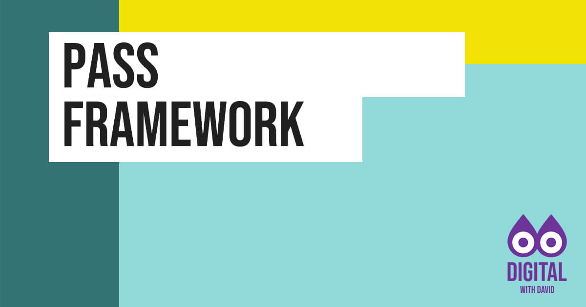 David Hodder - PASS Framework Banner