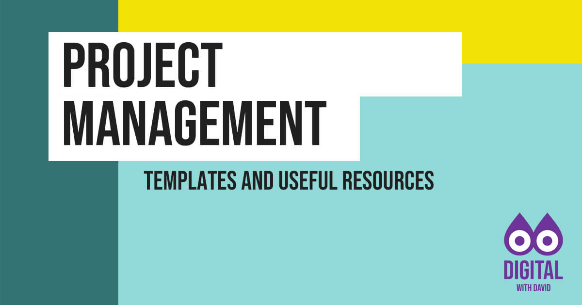 David Hodder - Project Management Banner