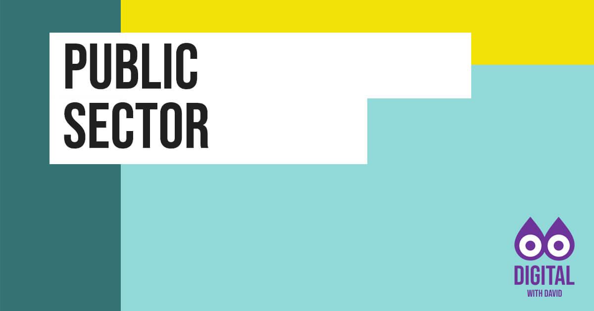 David Hodder - Public Sector Banner