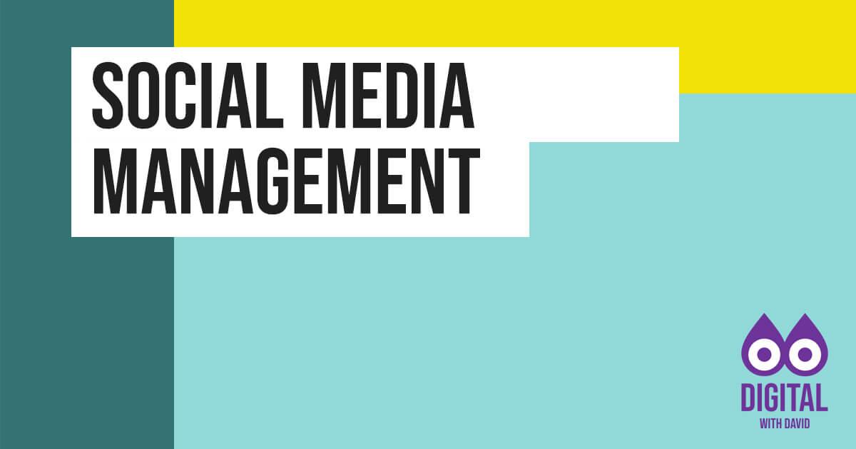 David Hodder - Social Media Management Banner