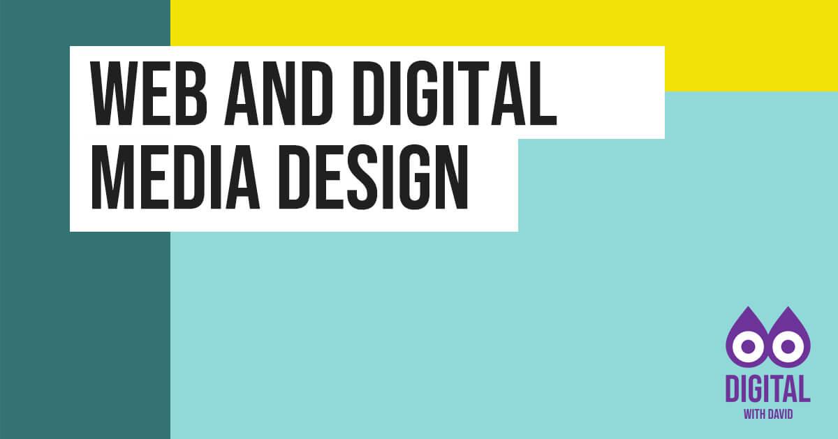 David Hodder - Web and Digital Media Design Banner