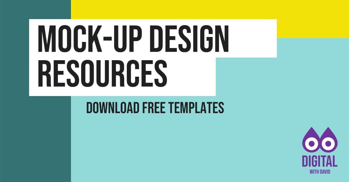 Free Design Mock-Ups Banner