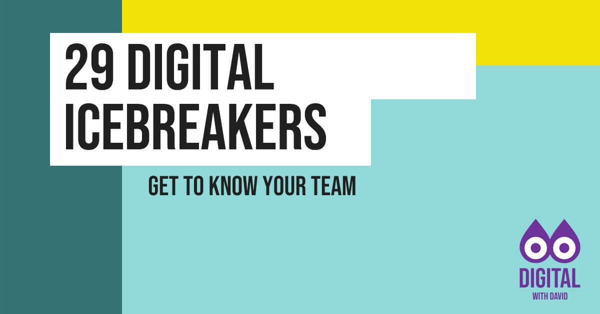 David Hodder - 29 Digital Icebreaker Banner